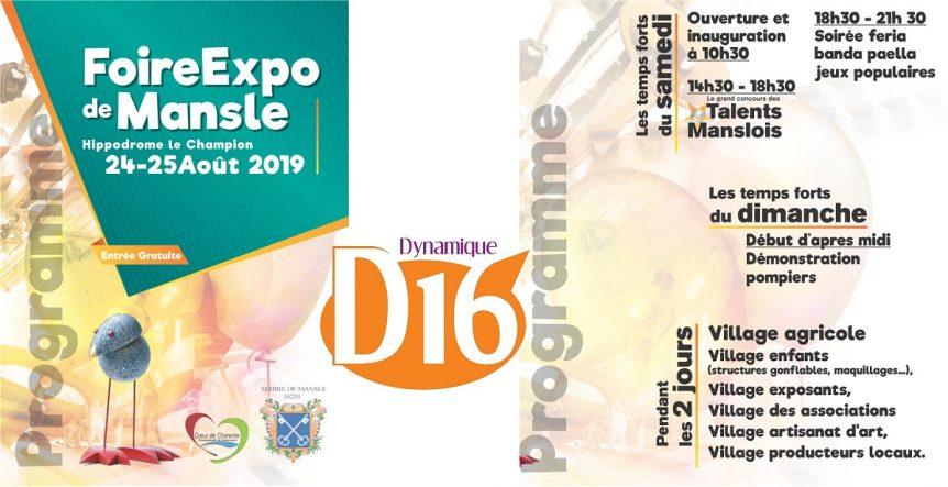 Foire expo à Mansle 2019