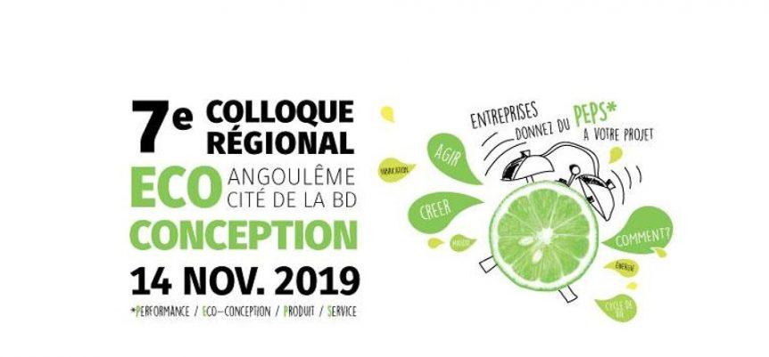 7ème colloque régional Eco-Conception en Nouvelle Aquitaine à Angoulême