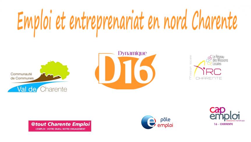 Emploi et entreprenariat en nord Charente