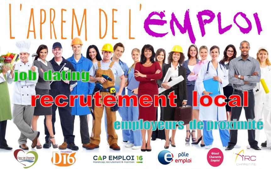 Aprem de l'emploi en Charente