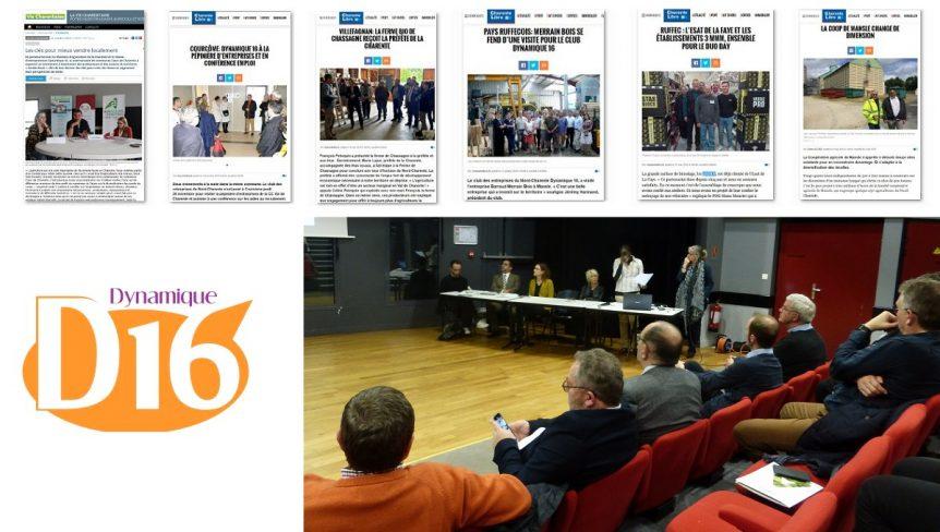 Coupures de presse Club d'entreprises Nord Charente