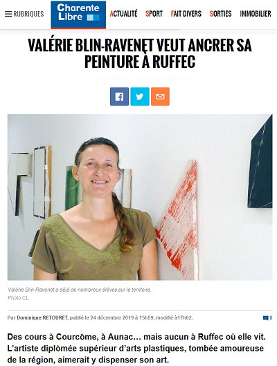 Cours de dessin en Charente avec Valérie Blin