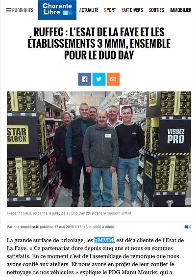 Esat et 3MMM Charente