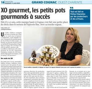 XO Gourmet les tartinables aux arômes de Cognac